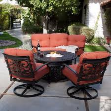 Patio Furniture With Gas Fire Pit by 48 Best Fire Pits Outdoor Living Outdoor Furniture And Decor