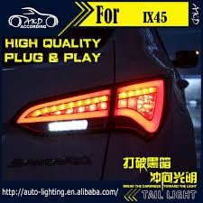 hyundai santa fe tail light assembly akd car styling tail l for hyundai ix45 tail lights new santa fe