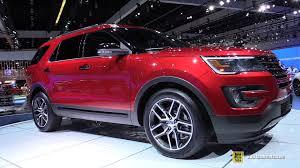 Ford Explorer 2016 Interior 2016 Ford Explorer Sport Ecoboost 4wd Exterior Interior