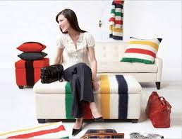 Upholstered Ottomans Diy Idea Blanket Upholstered Ottomans Apartment Therapy