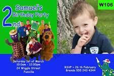 wiggles birthday greeting invitations ebay