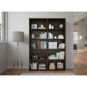 Extra Tall Bookcases Element Tall Wide 5 Shelf Bookcase Walmart Com