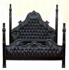 black 4 poster bed foter