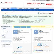 Resume Search by Introducing Resimilar Resumesearch Timesjobs The Official