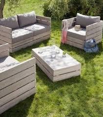 canapé de jardin en palette salon de jardin palette de bois 87 images 20 mod les de salons