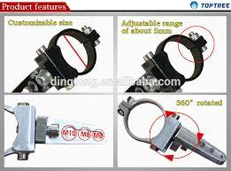 roll bar mount led light 4x4 equipment led light bar mounting brackets roll cage cls buy