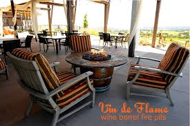 Wine Barrel Fire Pit Table by Fireplaces Fire Pits And Fire Tables Allgreen Inc
