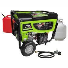 dual fuel portable generators generators the home depot