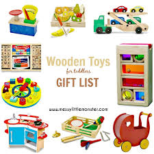 wooden toys for toddlers