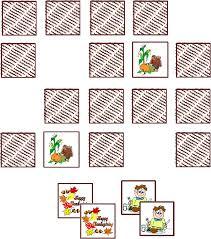 free thanksgiving match winter themed speech materials from