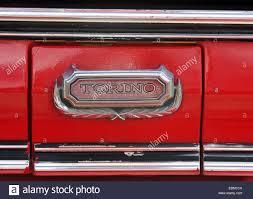 Ford Gran Torino Starsky And Hutch Ford Gran Torino Starsky And Hutch Replica Car Stock Photo