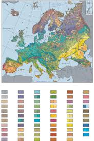 map eorope reduced general map of the vegetation of europe 1 10