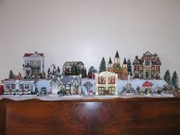 miniature halloween village do you collect christmas villages help getting started the dis