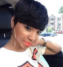 black women with 29 peice hairstyle 157 best short for donated hair images on pinterest short hair