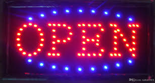 shop open sign lights 2016 sale super brightly customized led light sign led open sign