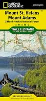 Mount Washington Trail Map by Mount St Helens Mount Adams Gifford Pinchot National Forest