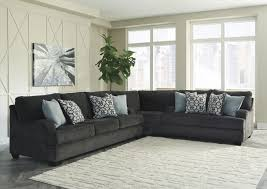 Charcoal Sectional Sofa Signature Design By Charenton Charcoal 3 Sectional Sofa