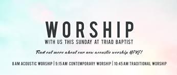 triad baptist church
