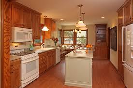 honey oak kitchen kitchen traditional with coast green granite