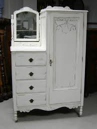 Victorian Armoire Wardrobe Shabby Antique Dresser Armoire Bedroom In A Box Painted French
