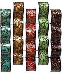Vase Wall Decor Amazon Com Deco 79 Metal Vase Wall Decor 17 By 38