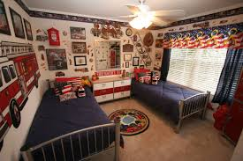 Firefighter Kids Room  Interiors Design - Firefighter kids room
