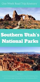 Utah cheap ways to travel images The ultimate one week utah national parks road trip itinerary png