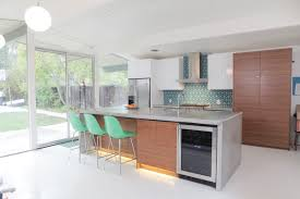 eichler style kitchen inspired by mid century design with aluminum