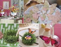 Easter Table Decorations by Easy To Make Table Decorations Home Design Ideas