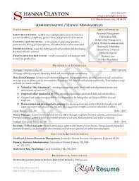Breakupus Nice Administrative Manager Resume Example With Fetching