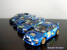 subaru autoart autoart cruiser the final convoy for tamiya 1 24 wrc subaru rally car