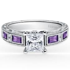 amethyst diamond rings images Kirk kara charlotte purple amethyst diamond engagement ring jpg