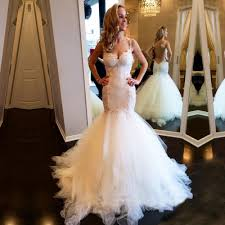 trumpet wedding dresses mermaid trumpet straps lace wedding dress bridal gown