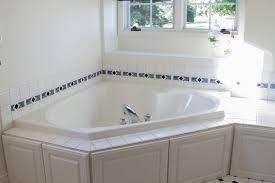 Diy Tile Bathtub Diy Painting Tile In Bathroom All Things Amber