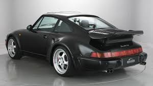 mint condition porsche 964 turbo slantnose is rare and for sale