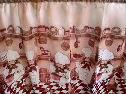 kitchen cafe curtains ideas chefs bistro kitchen cafe curtains jcpenney curtains drapes