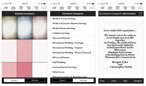 wedding invitations app 6 digital wedding invitation apps to save money and time