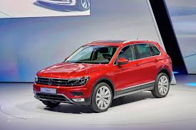 volkswagen tiguan 2017 2017 volkswagen tiguan is all grown up in frankfurt autoevolution