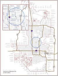 Phoenix Neighborhood Map by Connect 60 Plus Phoenix