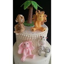 safari cake toppers jungle cake decorations safari animals safari animals cake