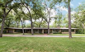dallas texas midcentury modern home for sale architectural digest