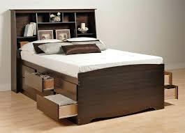 Bed Bookcase Headboard Storage Beds With Bookcase Headboard U2013 Hercegnovi2021 Me