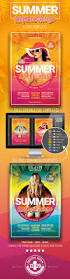 summer tropical house flyer template by designroom1229 graphicriver