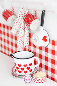 Red Kitchen Canisters by 658 Best Red And White Kitchen Images On Pinterest Red Kitchen