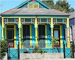 new orleans colorful houses new orleans homes and neighborhoods new orleans doubles
