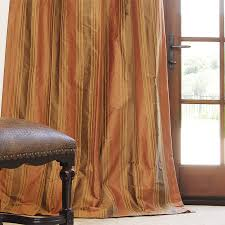 Dupioni Silk Drapes Discount Striped Silk Drapes Drapestyle Com