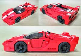 lego car show by bloks 積木車展ferrari fxx 1 17 8156