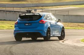 cambered smart car 2017 ford focus rs limited edition first drive review