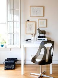 Leather Rolling Chair by Decorating Inspiring Small Home Office Ideas With Computer Desk