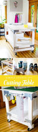 Studio Gate Leg Table Best 25 Sewing Cutting Tables Ideas On Pinterest Cutting Tables